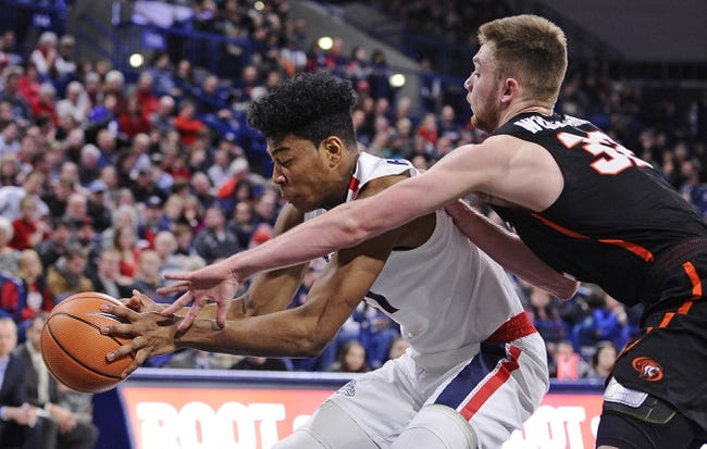 Pacific vs. Gonzaga - 2/8/18 College Basketball Pick, Odds, and Prediction