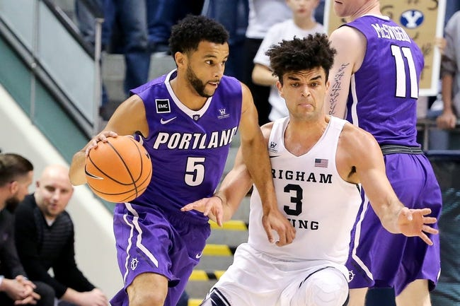 NCAA BB | BYU at Portland