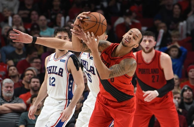 NBA | Philadelphia 76ers (23-13) at Portland Trail Blazers (20-16)