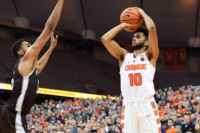 NCAA BB   St. Bonaventure Bonnies (4-8) at Syracuse Orange (8-4)