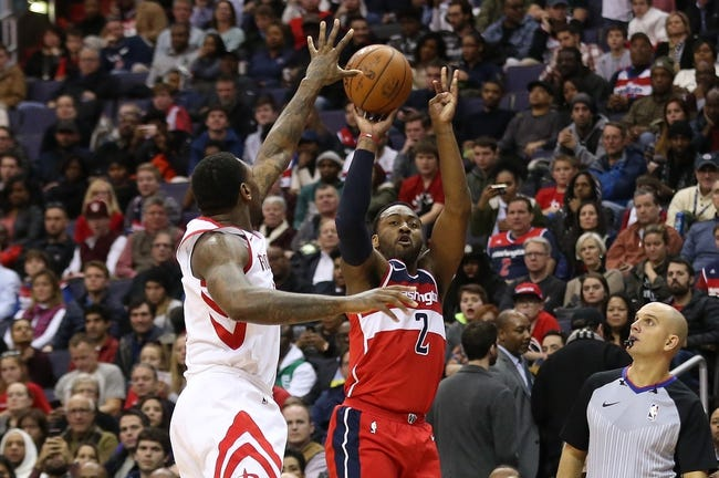 Houston Rockets vs. Washington Wizards - 4/3/18 NBA Pick, Odds, and Prediction