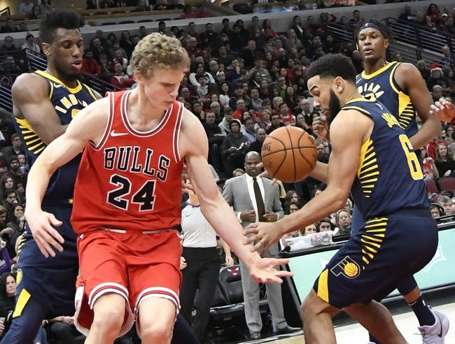 Indiana Pacers vs. Chicago Bulls - 1/6/18 NBA Pick, Odds, and Prediction