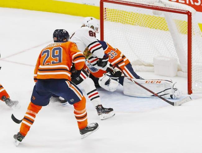 Chicago Blackhawks vs. Edmonton Oilers - 1/7/18 NHL Pick, Odds, and Prediction