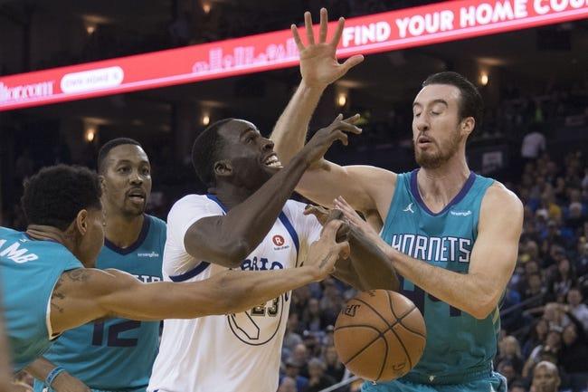 NBA   Golden State Warriors at Charlotte Hornets