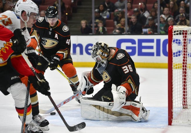 Calgary Flames vs. Anaheim Ducks - 1/6/18 NHL Pick, Odds, and Prediction
