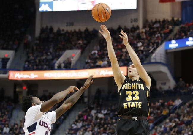 NCAA BB | Connecticut Huskies (12-12) at Wichita State Shockers (18-5)