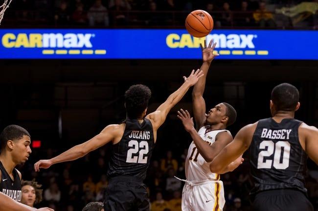 Harvard vs. Dartmouth - 1/6/18 College Basketball Pick, Odds, and Prediction