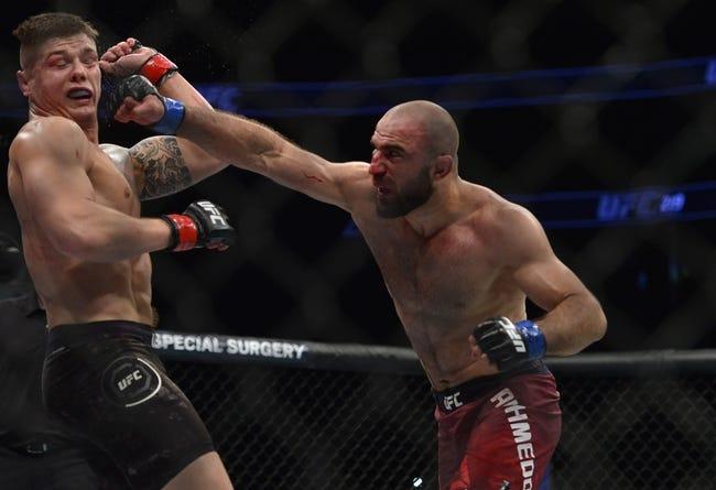 MMA | Tim Boetsch vs. Omari Akhmedov