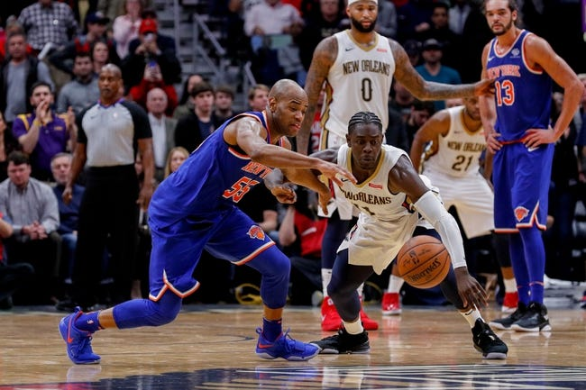 New York Knicks vs. New Orleans Pelicans - 1/14/18 NBA Pick, Odds, and Prediction