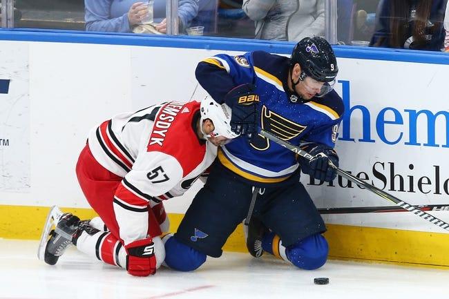NHL | Carolina Hurricanes (6-6-2) at St. Louis Blues (4-5-3)