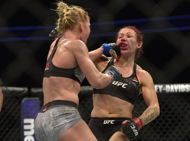 Holly Holm vs. Megan Anderson UFC 225 Pick, Preview, Odds, Prediction - 6/9/18