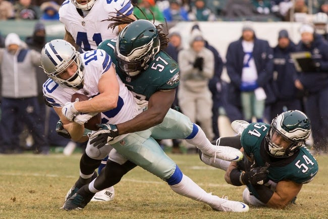 Dallas Cowboys at Philadelphia Eagles - 11/11/18 NFL Pick, Odds, and Prediction
