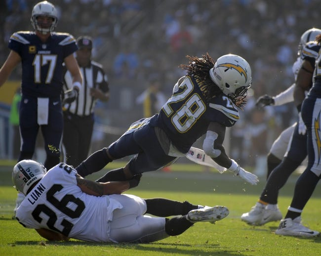 Los Angeles Chargers vs. Oakland Raiders - 10/7/18 NFL Pick, Odds, and Prediction