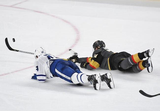 NHL | Vegas Golden Knights (6-7-1) at Toronto Maple Leafs (9-5-0)