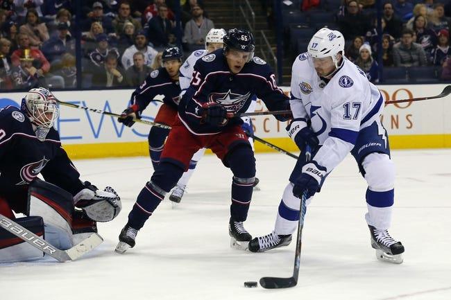 NHL | Columbus Blue Jackets (3-1-0) at Tampa Bay Lightning (1-1-0)