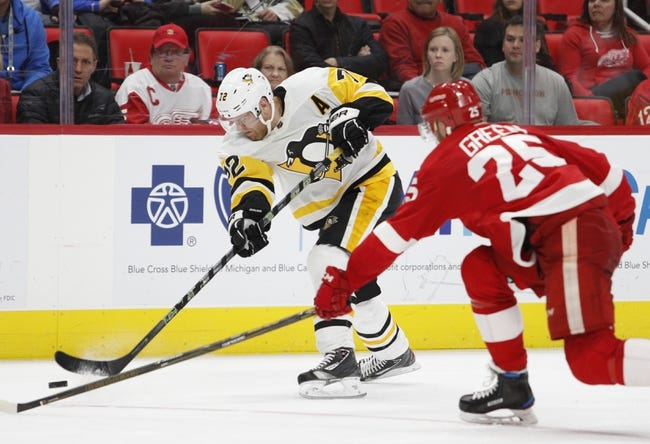 Pittsburgh Penguins vs. Detroit Red Wings - 1/13/18 NHL Pick, Odds, and Prediction
