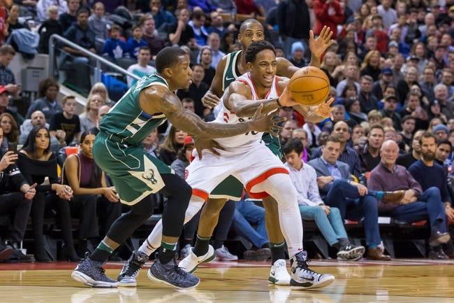 Milwaukee Bucks vs. Toronto Raptors - 1/5/18 NBA Pick, Odds, and Prediction