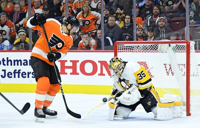 Philadelphia Flyers vs. Pittsburgh Penguins - 3/7/18 NHL Pick, Odds, and Prediction