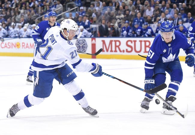 Toronto Maple Leafs vs. Tampa Bay Lightning - 2/12/18 NHL Pick, Odds, and Prediction
