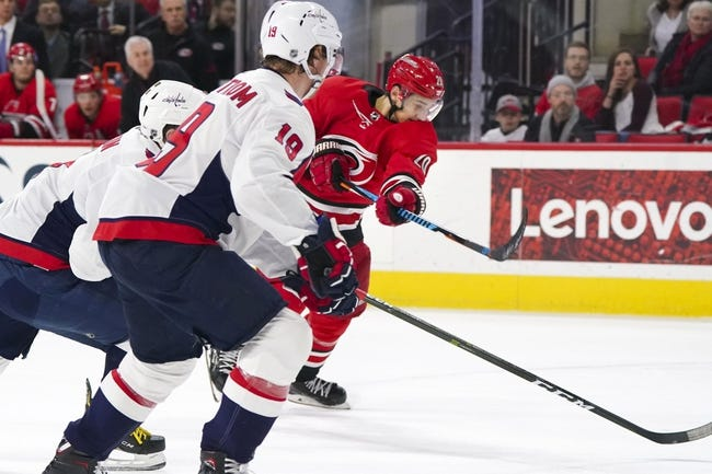 Washington Capitals vs. Carolina Hurricanes - 1/11/18 NHL Pick, Odds, and Prediction
