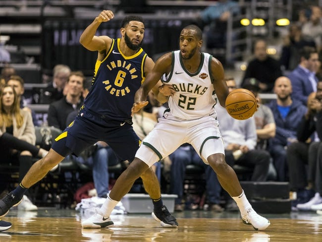 Indiana Pacers vs. Milwaukee Bucks - 1/8/18 NBA Pick, Odds, and Prediction