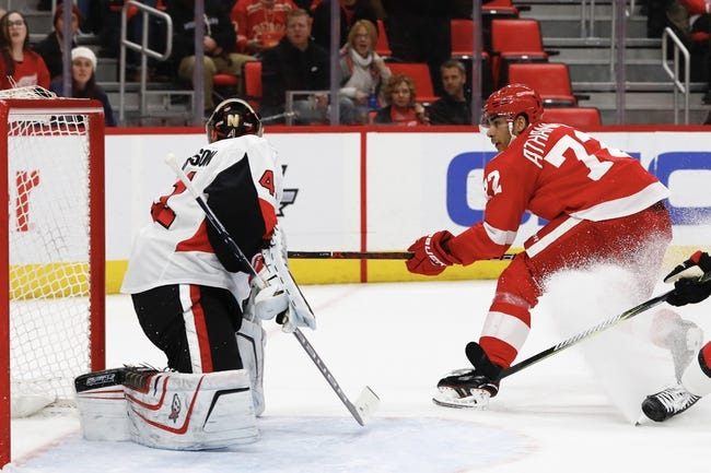 NHL | Ottawa Senators (27-39-11) at Detroit Red Wings (29-38-11)