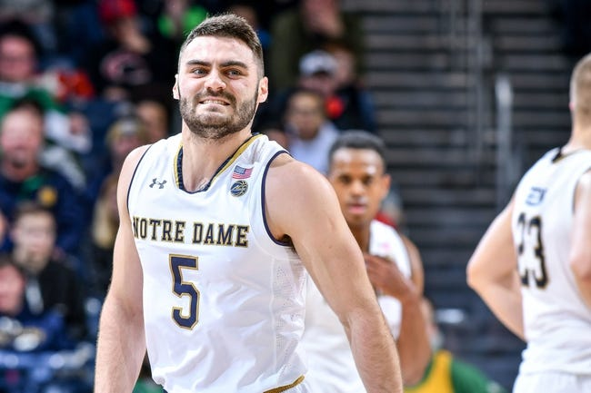 Notre Dame vs. North Carolina - 1/13/18 College Basketball Pick, Odds, and Prediction
