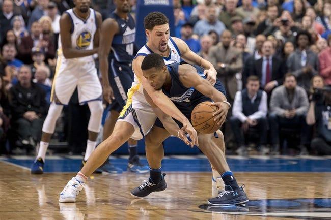 Golden State Warriors vs. Dallas Mavericks - 2/8/18 NBA Pick, Odds, and Prediction