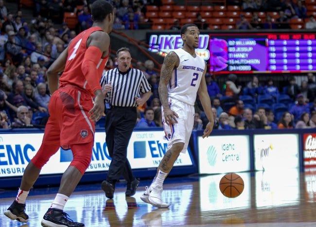 NCAA BB | Utah State Aggies (14-12) at New Mexico Lobos (12-14)