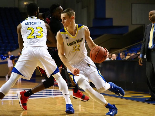 San Jose State vs. Air Force - 1/13/18 College Basketball Pick, Odds, and Prediction