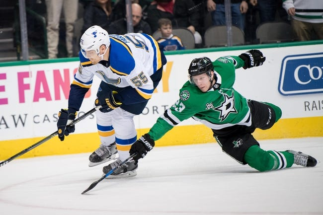 Dallas Stars vs. St. Louis Blues - 2/16/18 NHL Pick, Odds, and Prediction