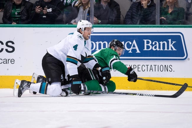 San Jose Sharks vs. Dallas Stars - 2/18/18 NHL Pick, Odds, and Prediction