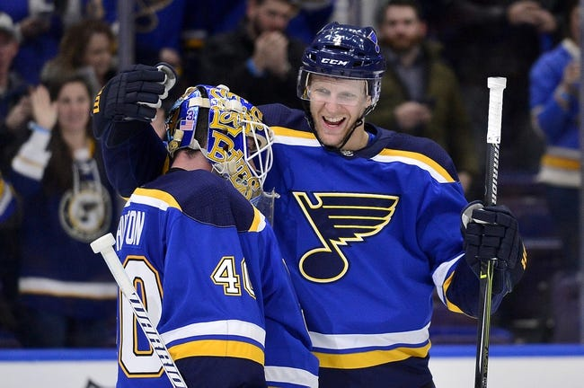 Vegas Golden Knights vs. St. Louis Blues - 3/30/18 NHL Pick, Odds, and Prediction