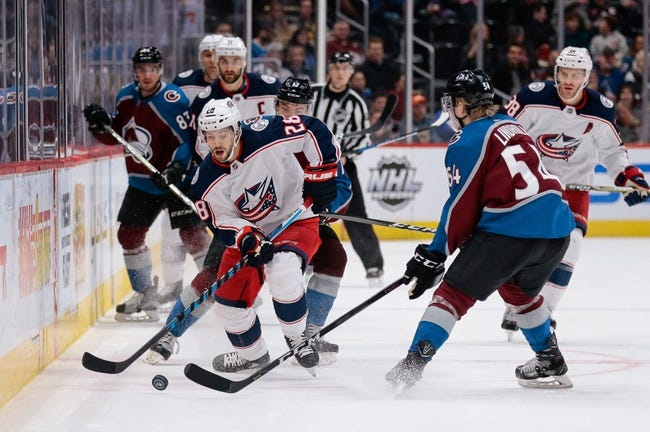 Columbus Blue Jackets vs. Colorado Avalanche - 3/8/18 NHL Pick, Odds, and Prediction