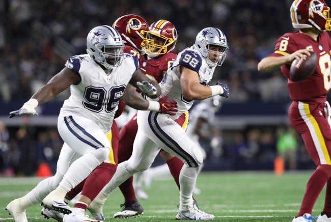 Dallas Cowboys at Washington Redskins - 10/21/18 NFL Pick, Odds, and Prediction