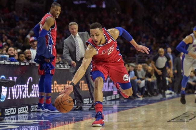 Detroit Pistons vs. Philadelphia 76ers - 4/4/18 NBA Pick, Odds, and Prediction