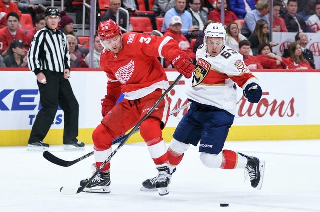 NHL | Detroit Red Wings (21-21-8) at Florida Panthers (21-22-6)