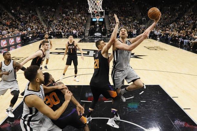 NBA | San Antonio Spurs (34-21) at Phoenix Suns (18-37)