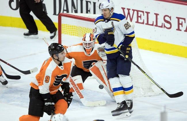 NHL | St. Louis Blues at Philadelphia Flyers