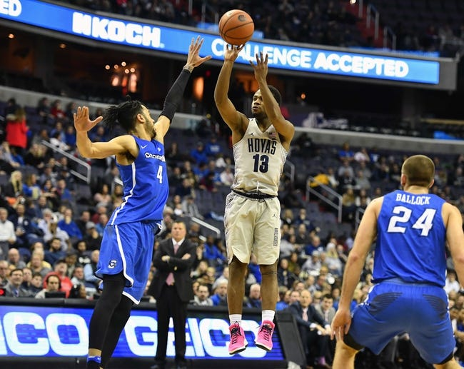Seton Hall vs. Georgetown - 1/13/18 College Basketball Pick, Odds, and Prediction