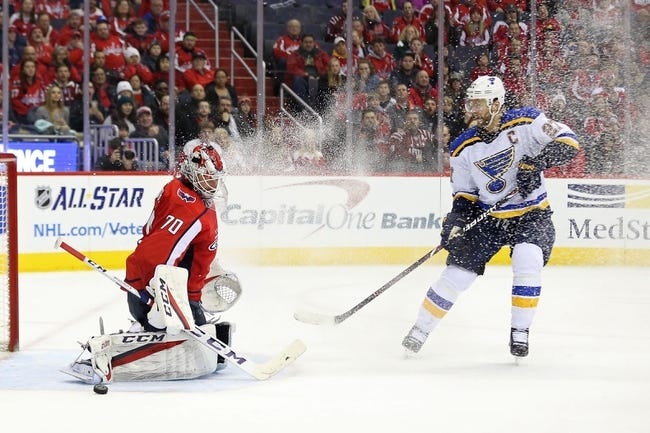 St. Louis Blues vs. Washington Capitals - 4/2/18 NHL Pick, Odds, and Prediction