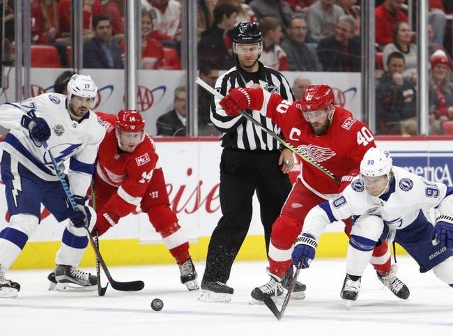 NHL | Detroit Red Wings (23-23-9) at Tampa Bay Lightning (38-16-3)