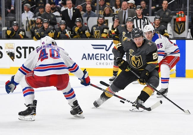 NHL | Vegas Golden Knights (18-14-2) at New York Rangers (14-13-4)