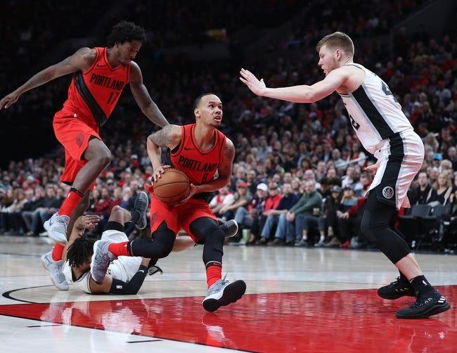 San Antonio Spurs vs. Portland Trail Blazers - 4/7/18 NBA Pick, Odds, and Prediction