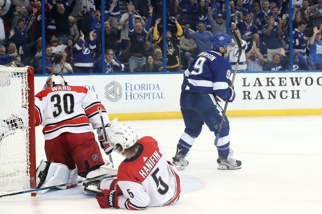 Carolina Hurricanes vs. Tampa Bay Lightning - 4/7/18 NHL Pick, Odds, and Prediction