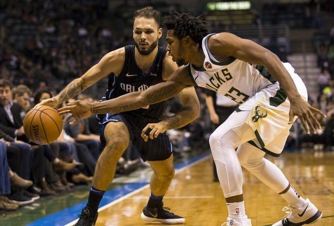 Orlando Magic vs. Milwaukee Bucks - 2/10/18 NBA Pick, Odds, and Prediction