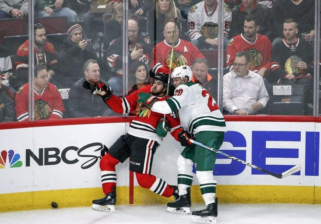 Minnesota Wild vs. Chicago Blackhawks - 2/10/18 NHL Pick, Odds, and Prediction