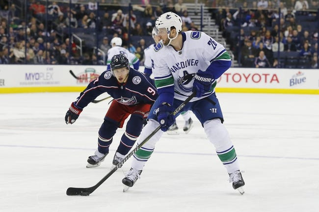 Vancouver Canucks vs. Columbus Blue Jackets - 3/31/18 NHL Pick, Odds, and Prediction