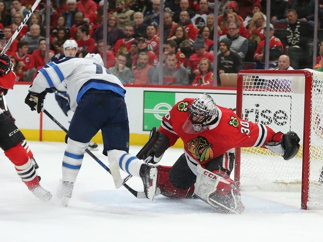 Winnipeg Jets vs. Chicago Blackhawks - 3/15/18 NHL Pick, Odds, and Prediction