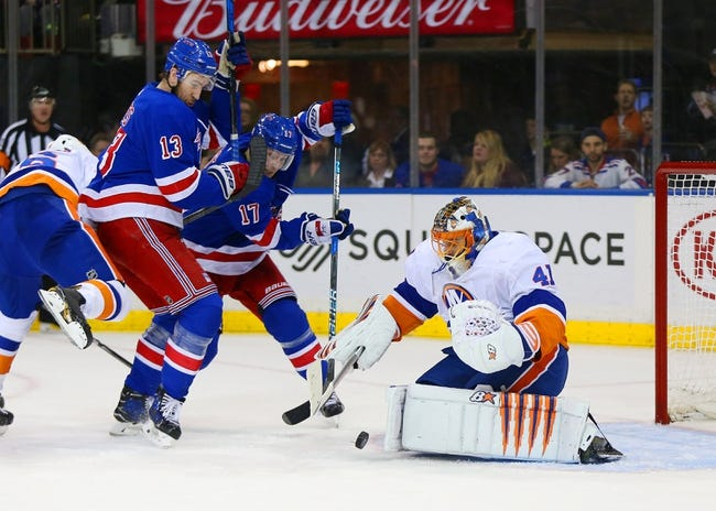 New York Islanders vs. New York Rangers - 2/15/18 NHL Pick, Odds, and Prediction
